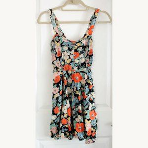 Urban Outfitters Kimchi Blue Floral Summer Dress